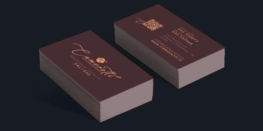 BUSINESS CARDS - CAMORETTI